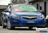Classic 2009 Holden Cruze JG CD Blue Automatic 6sp A Sedan for Sale