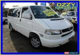 Classic 2003 Volkswagen Caravelle TDI White Automatic 4sp A Wagon for Sale