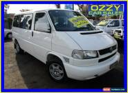 2003 Volkswagen Caravelle TDI White Automatic 4sp A Wagon for Sale