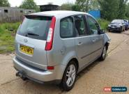 2003 FORD FOCUS C-MAX ZETEC 6 SPEED DIESEL SPARES OR REPAIRS DAMAGED DRIVES MOT for Sale