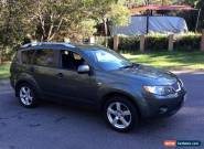 2008 Mitsubishi Outlander ZG MY08 VR Limited Edition (7 Seat) Grey Automatic A for Sale