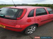 2004 VAUXHALL CORSA ENERGY 16V RED for Sale