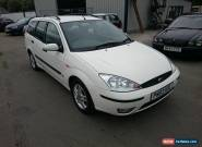 ***NO RESERVE*** 2003 03 FORD FOCUS ZETEC TDI WHITE DIESEL ESTATE MANUAL for Sale