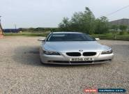 2006 BMW 520D SE TOURING SILVER for Sale