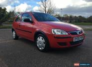 2005 VAUXHALL CORSA 1.0L  LIFE TWINPORT RED WITH FULL MOT, 2DOOR for Sale