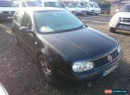 ***NO RESERVE**** PROJECT 2004 53 VW GOLF 1.9TDI BLACK 5DR DIESEL needs Turbo for Sale