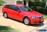 Classic 2012 Holden Commodore VE II MY12 Omega Sportwagon Sting Red Automatic 6sp A for Sale
