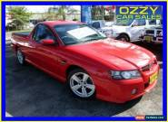 2004 Holden Commodore VZ SS Red Automatic 4sp A Utility for Sale
