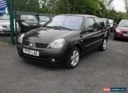 2003 RENAULT CLIO DYNAMIQUE 16V BLACK for Sale