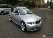 2002 52 BMW 325 TI SPORT COMPACT AUTO SILVER for Sale