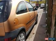 2003 VAUXHALL CORSA SXI 16V GOLD for Sale