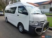 2008 Toyota Hiace KDH223R Commuter White Automatic 4sp A Mini Bus for Sale