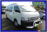Classic 2009 Toyota Hiace KDH223R MY07 Upgrade Commuter White Automatic 4sp A Bus for Sale