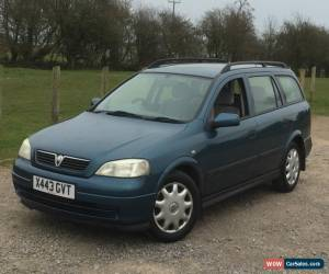 Classic 2001 VAUXHALL ASTRA 1.4 LS 16V 5 DOOR ESTATE  12 MONTHS MOT for Sale