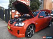 2007 Holden Commodore VE SS Orange Automatic 6sp A Sedan for Sale