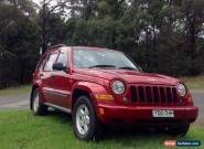 Jeep Cherokee Sport Anniversary Edition  No Reserve Keen to sell asap ! for Sale