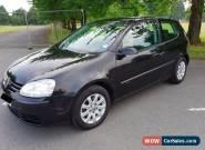 VW Volkswagen Golf 1.6 FSi 3 Door Black Mk5 2004 for Sale