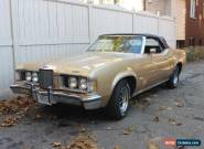 Mercury: Cougar XR-7 for Sale