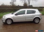 2004-04 VAUXHALL ASTRA 1.7 CDTi DIESEL CLUB 5 DOOR SILVER....NOT 1.3 or 1.9 for Sale