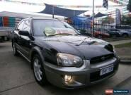 2005 Subaru Impreza MY05 RV (AWD) Black Automatic 4sp A Hatchback for Sale