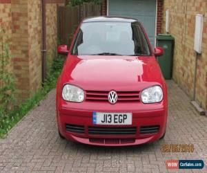 Classic VW GOLF GT TDI  RED 3 DOOR   for Sale
