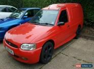 2001 ford escort 1.8 16v zetec gti van, modified, mot, great condition. for Sale