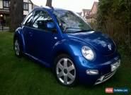2001 VOLKSWAGEN BEETLE V5 BLUE 2.3 Petrol for Sale