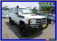 2012 Toyota Landcruiser VDJ78R MY12 Update GXL (4x4) White Manual 5sp M for Sale