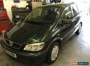 2004 54 REG VAUXHALL ZAFIRA 1.8 16V AUTO 70K LOW MILES 7 SEATER MPV NO RESERVE for Sale