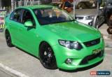 Classic 2008 Ford Falcon FG XR6T Green Manual 6sp M Sedan for Sale