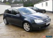 2006 VOLKSWAGEN GOLF TDI SPORT BLUE for Sale