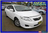 Classic 2009 Toyota Corolla ZRE152R Ascent White Manual 6sp M Sedan for Sale