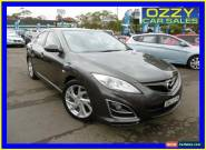 2010 Mazda 6 GH MY10 Luxury Sports Grey Automatic 5sp A Hatchback for Sale
