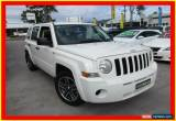 Classic 2008 Jeep Patriot MK MY2007 Sport White Automatic 6sp A Wagon for Sale