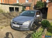 2004 VAUXHALL ASTRA 1.6 SXI TWINPORT SILVER SPARES OR REPAIRS for Sale