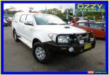 Classic 2008 Toyota Hilux KUN26R 08 Upgrade SR5 (4x4) White Automatic 4sp A for Sale