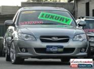 2007 Subaru Liberty MY08 2.5I Premium Silver Automatic 4sp A Wagon for Sale