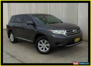 2012 Toyota Kluger GSU45R MY11 Upgrade KX-R (4x4) 5 Seat Grey Automatic 5sp A for Sale