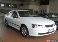 2003 Ford Falcon BA XT White Automatic 4sp A Sedan for Sale