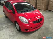 2008 Toyota Yaris AUTO  5dr  low 79km light front damaged repairable drives  for Sale