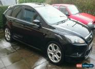 2010 (60) Ford Focus Zetec S 2.0TDCI, 53K miles, Panther Black, extras, towbar for Sale