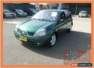 2002 Renault Clio Expression Green Manual 5sp M Hatchback for Sale