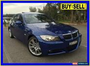 2007 BMW 335i E90 07 Upgrade 35I Blue Automatic 6sp A Sedan for Sale