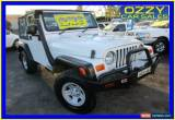 Classic 2005 Jeep Wrangler TJ Sport (4x4) White Manual 6sp M Softtop for Sale