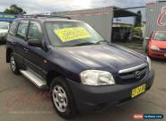 2002 Mazda Tribute Limited Traveller Blue Automatic 4sp A Wagon for Sale