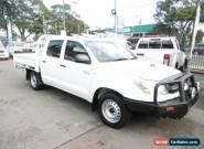 2010 Toyota Hilux KUN16R 09 Upgrade SR White Manual 5sp M Dual Cab Pick-up for Sale