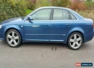 2005 AUDI A4 S LINE TDI CVT BLUE for Sale