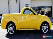 Chevrolet: SSR SS for Sale