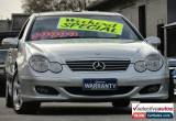 Classic 2004 Mercedes-Benz C200 CL203 Kompressor Silver Automatic 5sp A Coupe for Sale