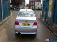 2007 BMW 525I SE AUTO SILVER for Sale